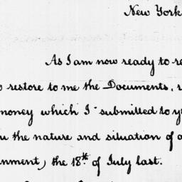 Document, 1787 October 23
