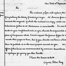 Document, 1787 September 12