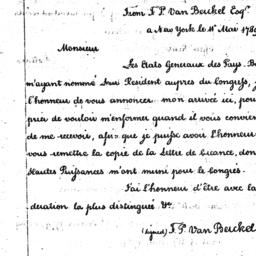 Document, 1789 May 11