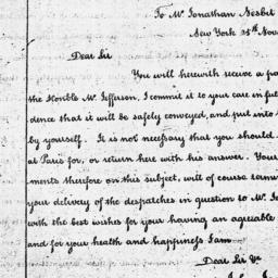Document, 1788 November 25