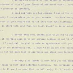 Letter: 1921 September 19