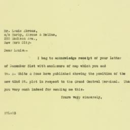 Letter: 1926 January 4
