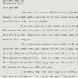Letter: 1933 April 13