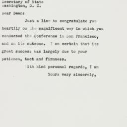 Letter: 1951 September 11