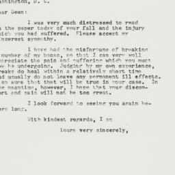 Letter: 1958 January 10