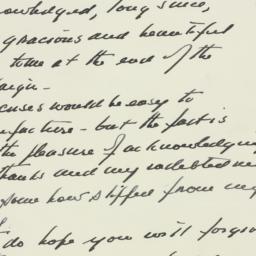 Letter: 1951 December 31