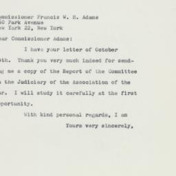 Letter: 1959 October 17