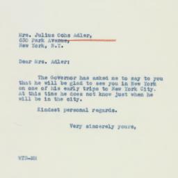 Letter : 1941 January 29