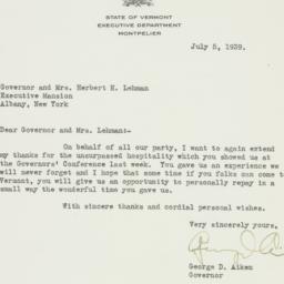Letter : 1939 July 5