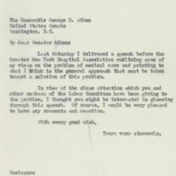 Letter: 1950 May 16
