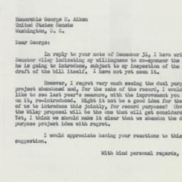 Letter: 1953 January 7