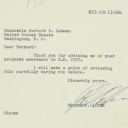 Letter: 1956 June 14