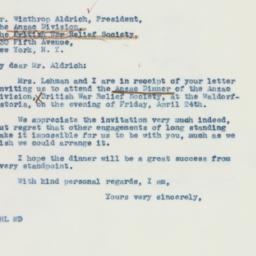 Letter: 1942 April 9