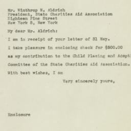 Letter: 1945 June 8