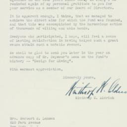 Letter: 1947 July 15