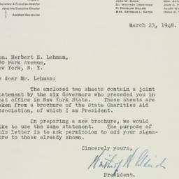 Letter : 1948 March 23