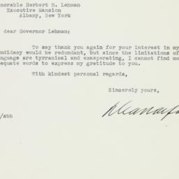 Letter: 1941 February 17