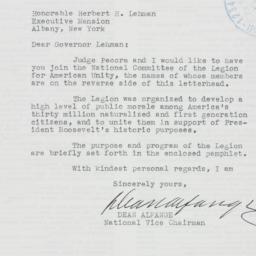 Letter : 1941 November 24