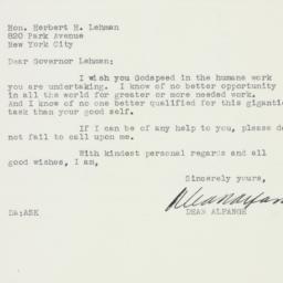 Letter: 1942 November 27