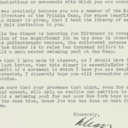 Letter: 1947 September 25