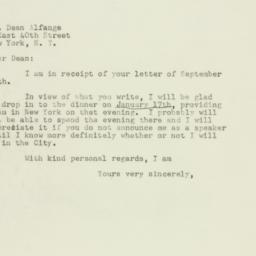 Letter : 1947 September 30