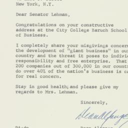 Letter : 1957 April 3
