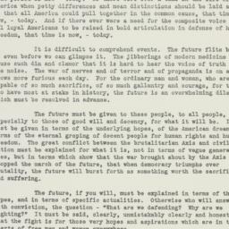 Speech : 1941 June 15