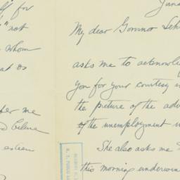 Letter: 1935 June 29
