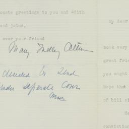 Letter : 1939 June 4