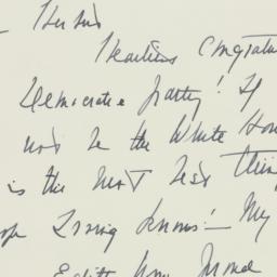 Letter : 1946 September 5