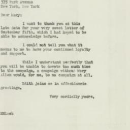 Letter : 1946 September 20