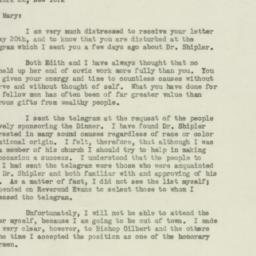 Letter: 1947 May 21