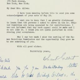 Letter: 1947 May 24