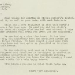 Letter : 1947 June 4