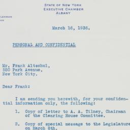 Letter: 1936 March 16