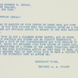 Letter: 1936 March 27