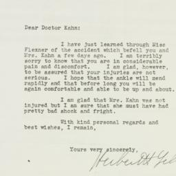 Letter: 1940 April 27
