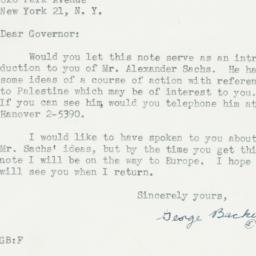 Letter : 1947 February 19