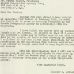 Letter : 1947 March 8