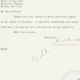 Letter : 1937 March 30