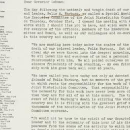 Letter : 1937 October 26