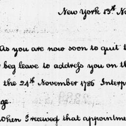 Document, 1789 November 13