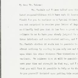 Letter : 1920 September 3