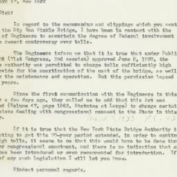 Letter: 1954 April 9