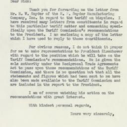Letter: 1955 April 26