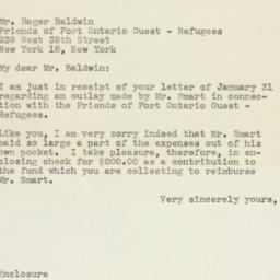 Letter: 1946 February 6