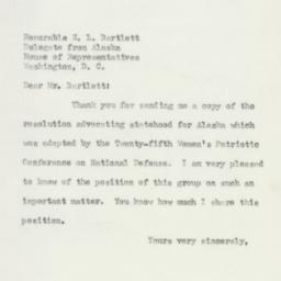 Letter : 1951 March 10