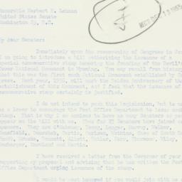 Letter : 1955 December 12