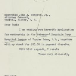Letter: 1932 March 10