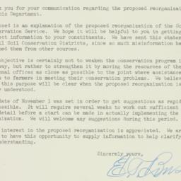 Letter : 1953 October 31